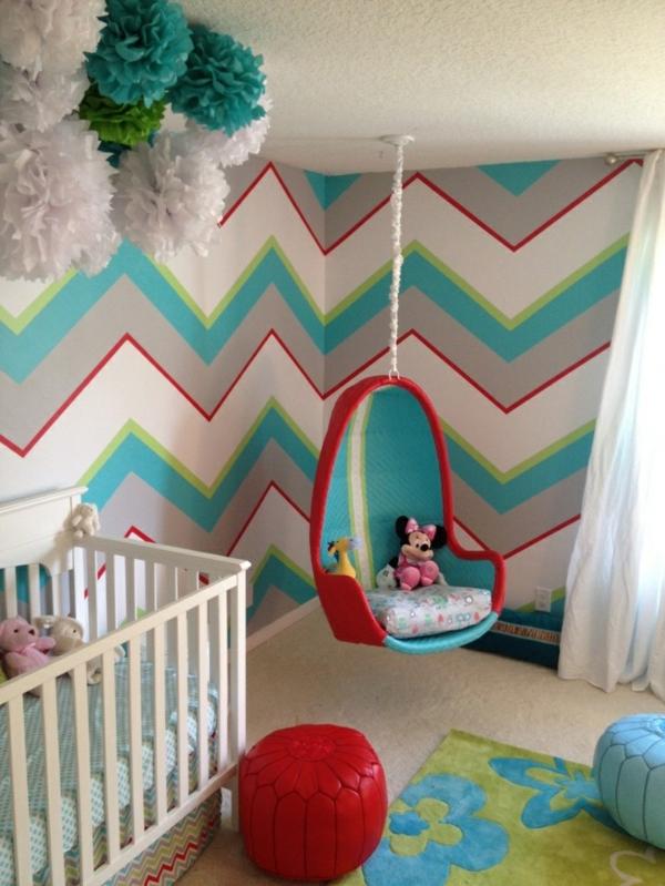 Kinderzimmergestaltung  Farbideen für Kinderzimmer - coole Kinderzimmergestaltung