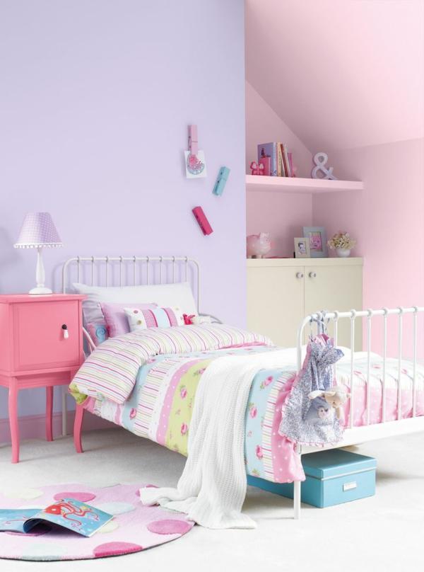 wunderbar kinderzimmer lila rosa ideen die kinderzimmer. Black Bedroom Furniture Sets. Home Design Ideas
