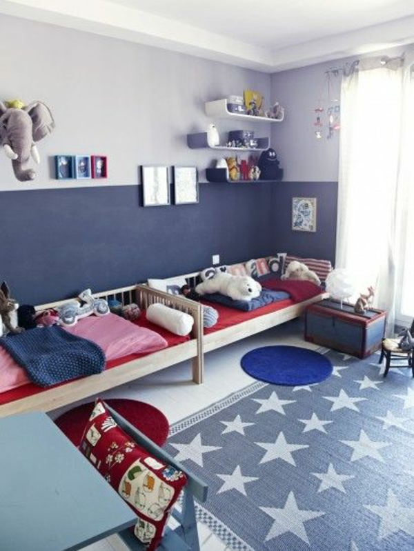 farbideen f r kinderzimmer coole kinderzimmergestaltung. Black Bedroom Furniture Sets. Home Design Ideas