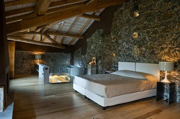 Wandverkleidung mit Kunststein wandpaneele steinoptik bodenbelag