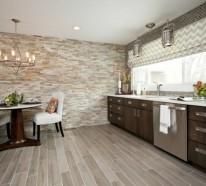 beautiful wandverkleidung für küchen ideas - house design ideas