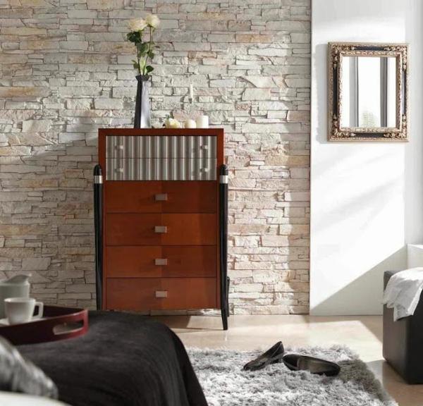 blumen Wandverkleidung Kunststein wandpaneele steinoptik sideboard