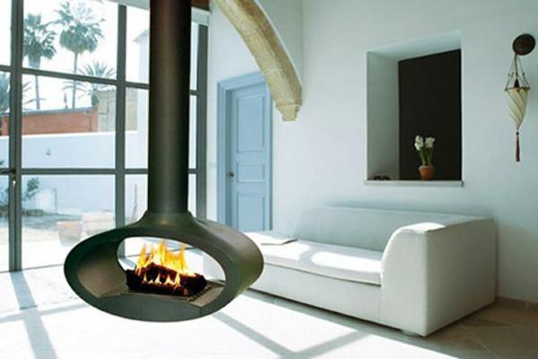 h ngender kaminofen moderne luxus kamine. Black Bedroom Furniture Sets. Home Design Ideas