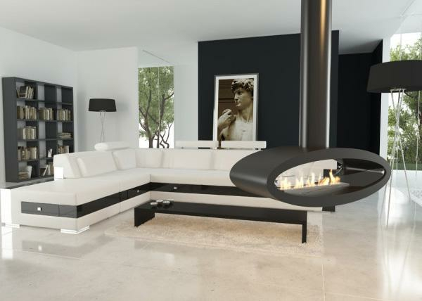 h ngender kaminofen moderne luxus kamine. Black Bedroom Furniture Sets. Home Design Ideas