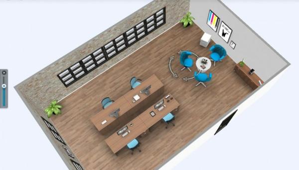 online Zimmerplaner braun bodenbelag