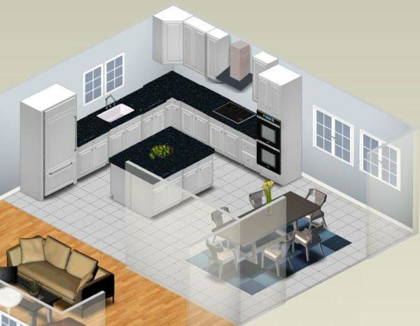 originelle einrichtung Zimmerplaner online 3D