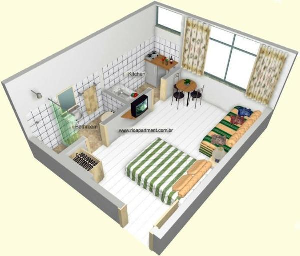 schöne schnell online Zimmerplaner schlafzimmer bett