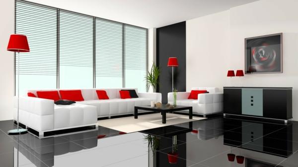 Kostenlose Zimmerplaner virtuell rot farbgestaltung