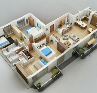 Kostenlose Zimmerplaner