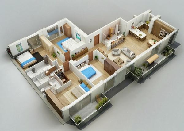 Kostenlose online Zimmerplaner zimmer wohnraum