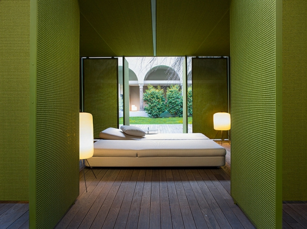 lounge gartenm bel set von paola lenti entworfen. Black Bedroom Furniture Sets. Home Design Ideas