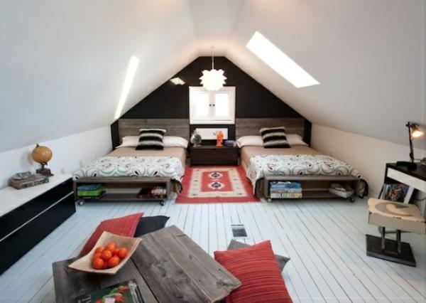 Möbel aus Paletten gartenmöbel europaletten dachfenster