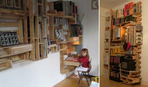 Möbel aus Paletten gartenmöbel europaletten designs
