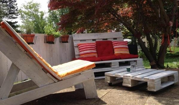 wohnzimmer paletten:100 Möbel aus Paletten – schöne Bastel- und Wohnideen für Sie