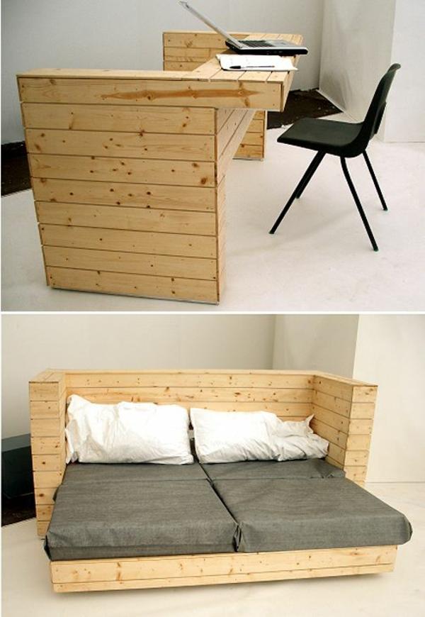 ▷ 1001+ möbel aus paletten - schöne wohnideen für sie - Paletten Schreibtisch