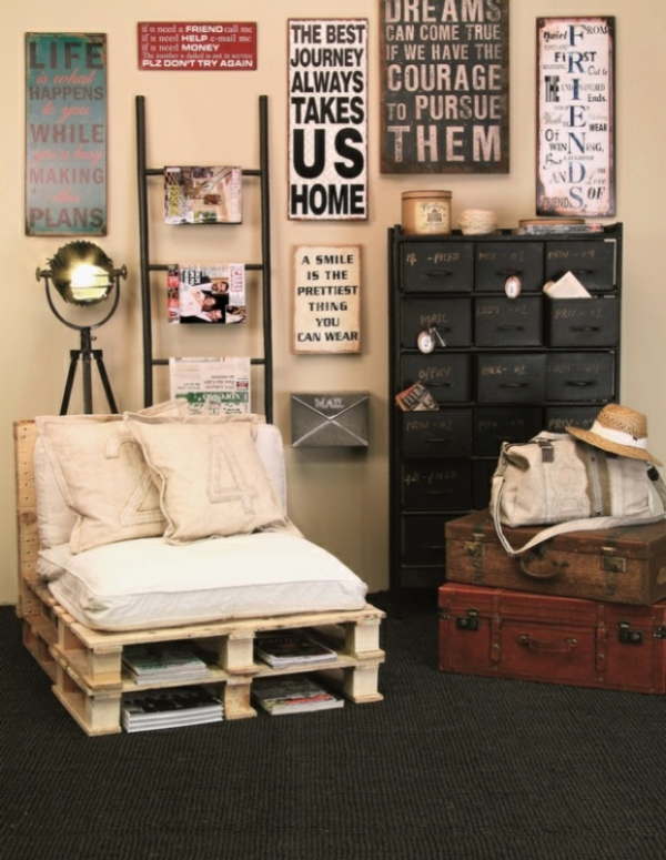 100 m bel aus paletten sch ne wohnideen f r sie. Black Bedroom Furniture Sets. Home Design Ideas