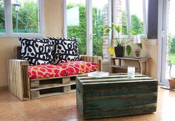 Paletten gartenmöbel europaletten wohnzimmer