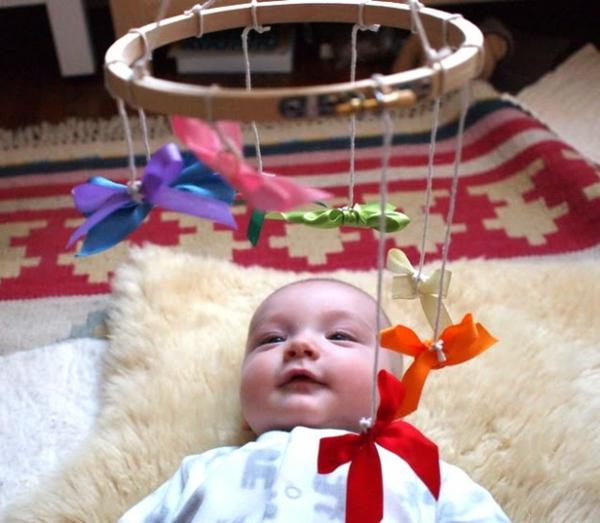 Mobilee basteln baby freude