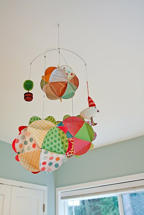 how to make a baby mobile diy