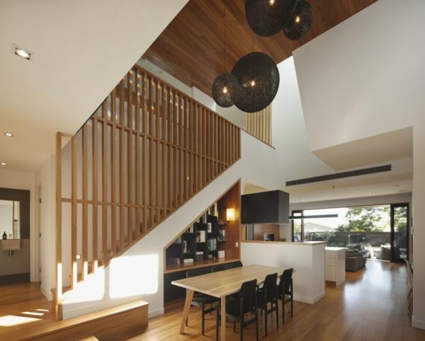 Modernes Architektenhaus haus hütte vor krieg