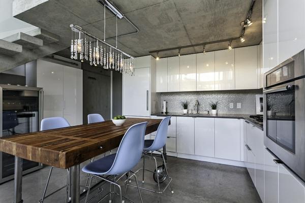 modernes penthaus in vancouver ansässig - Küche Architektur