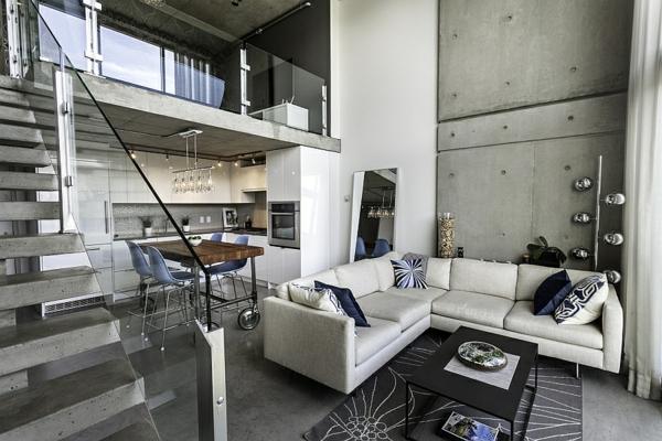 modernes penthaus in vancouver ans ssig. Black Bedroom Furniture Sets. Home Design Ideas