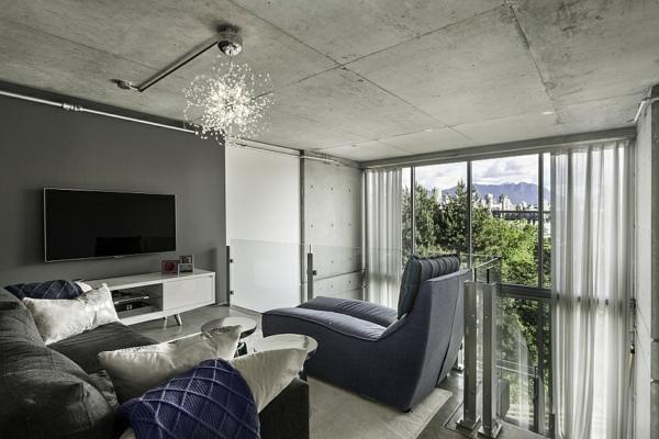 modernes penthaus in vancouver ansässig - Architekt Wohnzimmer
