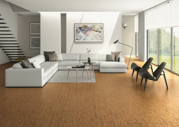 Nachteile Korkboden sofa stühle wohnzimmer