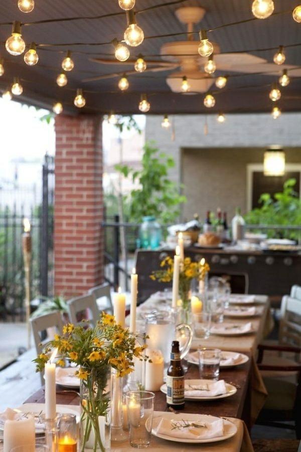 gartengestaltung Outdoor küchen sommer licht