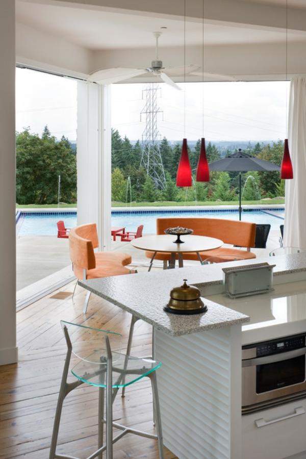 Outdoor Küchenmöbel gartengestaltung sommer modern