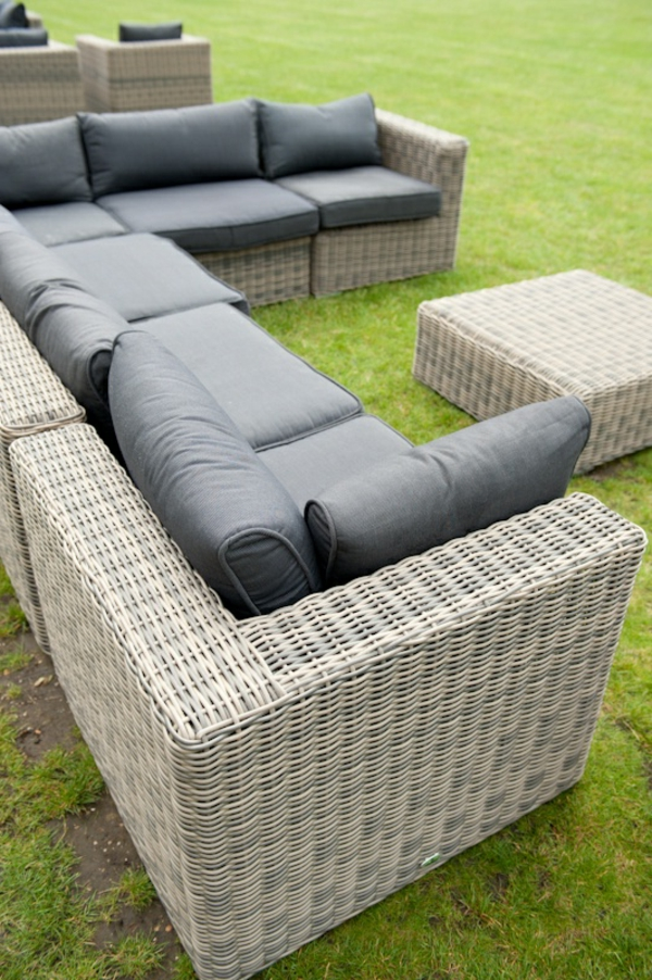 45 outdoor rattanm bel modernes gartenm bel set und. Black Bedroom Furniture Sets. Home Design Ideas