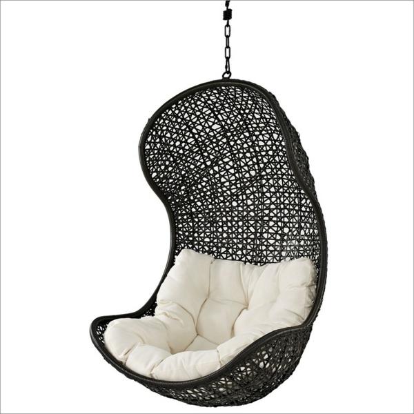 45 Outdoor Rattanmöbel - Modernes Gartenmöbel Set Und Lounge Sessel Schaukel Im Garten Rattan Holz