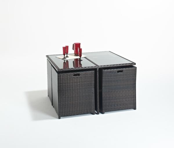 45 Outdoor Rattanmöbel - modernes Gartenmöbel Set und Lounge Sessel