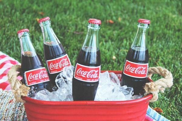 Party Deko eiskühler Nationalfarben coke