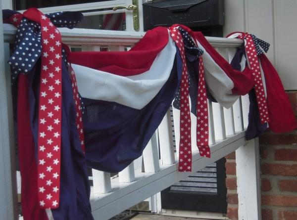 Party Deko in Nationalfarben heimtextilien amerikanisch