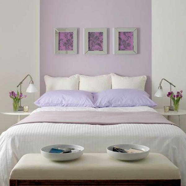 Pastell Wandfarben farbpalette farbgestaltung wanddeko gemälde bilderrahmen