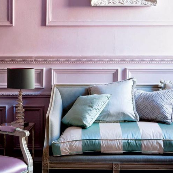 Altrosa Als Wandfarbe Frische Farbgestaltung: Schicke, Moderne Farbgestaltung