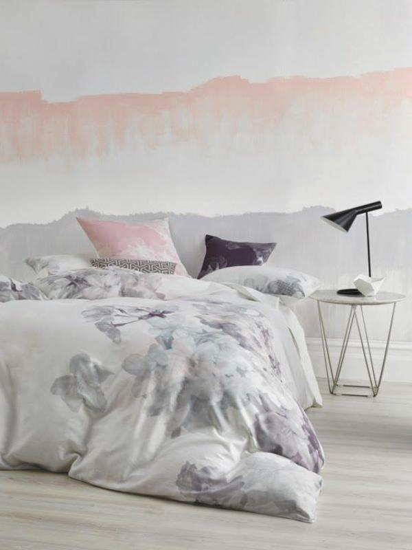 Pastell farbpalette farbgestaltung wanddeko