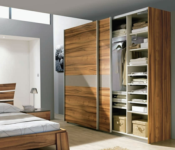 schlafzimmerschranksysteme einrichtungsl sungen f r mehr ordnung. Black Bedroom Furniture Sets. Home Design Ideas