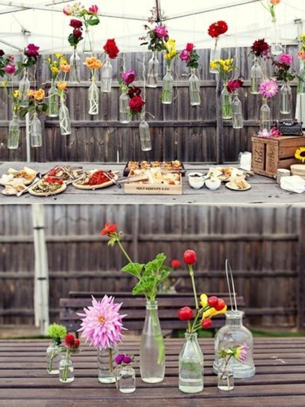 40 Gartenideen für Ihre Sommerparty Deko