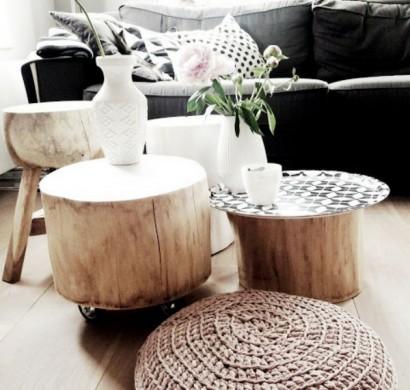 tisch aus baumstamm coole m belst cke von der natur inspiriert. Black Bedroom Furniture Sets. Home Design Ideas