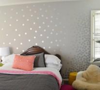 Wandfarbe mit Metalleffekt – Funkeln und Glitzern in Ihrem Zuhause