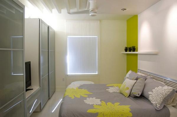Wohnideen für Farbkombination wandfarbe wohnzimmer grau grün