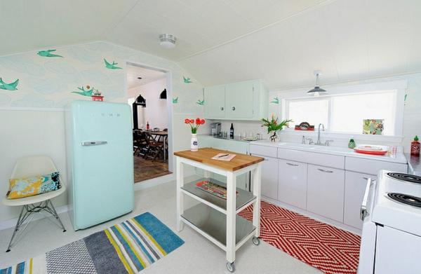 Wohnideen für Farbkombination wandfarbe wohnzimmer küche