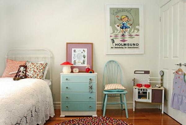 Wohnideen für Farbkombination wandfarbe wohnzimmer kommode