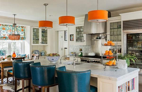 Wohnideen für Farbkombination wandfarbe wohnzimmer kronleuchter