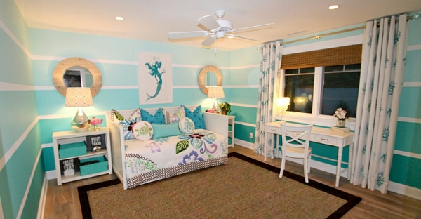 Wohnideen für Farbkombination wandfarbe wohnzimmer wandspiegel