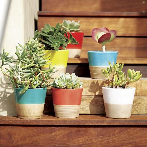 aktuelle wohntrends umweltfreundlich balkon pflanzen pflanzenbehälter