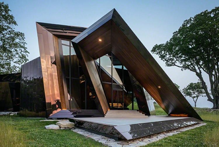 architektur und design ein architektenhaus von daniel liebeskind. Black Bedroom Furniture Sets. Home Design Ideas