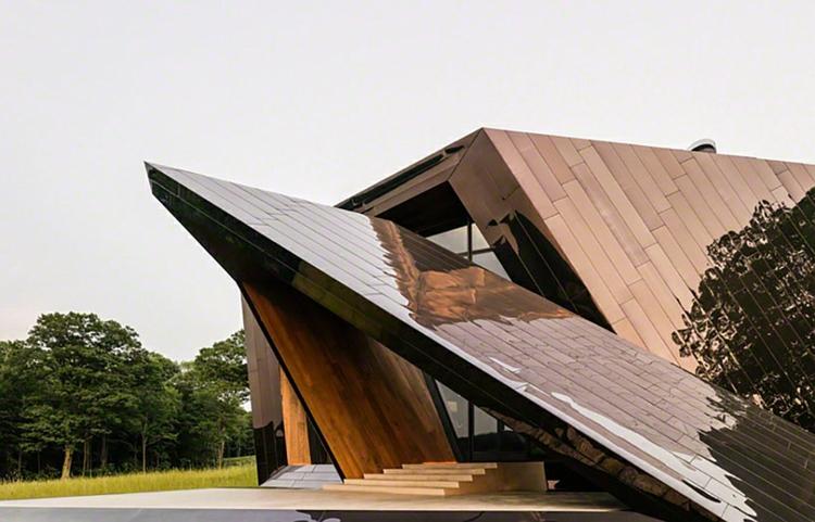 architektur und design Daniel Libeskind architektenhaus minimalistisch skulpturell